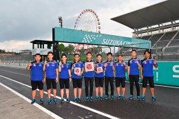 นักบิดยามาฮ่า ไทยแลนด์ เรซซิ่งทีม แรงฝ่าสายฝน ทะยานคว้าชัยชนะ ธงไทยโบกสะบัดยอดโพเดี้ยม ศึกชิงแชมป์เอเชีย เรซ 2 ที่ซูซูก้า