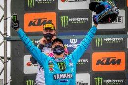 """""""วัตสัน"""" ผงาด ลอมเมล บิด YZ250FM ประเดิมแชมป์แรก MX2"""