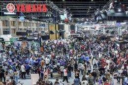 ยามาฮ่าฉลองยอดขาย ผู้นำอันดับ 1 ตัวจริง 1,033 คัน ในงานมอเตอร์เอ็กซ์โป 2020 New MT-03 สุดร้อนแรง ยอดจองทะลุ 300 คัน