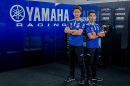 """ยามาฮ่า ไทยแลนด์ เรซซิ่งทีม จับคู่ """"แสตมป์-ตี"""" ควบ YZF-R1 ล่าแชมป์รุ่นใหญ่"""