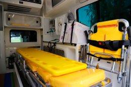 ยามาฮ่าให้ความสําคัญกับคุณภาพชีวิตของพนักงานฯ จัดซื้อรถพยาบาล Yamaha Ambulance สำหรับเครื่องย้ายพนักงานที่เจ็บป่วย ในกรณีฉุกเฉินเร่งด่วน