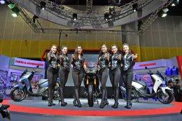 ยามาฮ่าเนรมิตบูธ Yamaha Revs Your Style ไปให้สุด ในสไตล์ที่เป็นคุณ เผยโฉมใหม่ Tracer 900GT พร้อมเปิดราคา LEXi VVA อย่างเป็นทางการ
