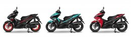 All New YAMAHA AEROX : SPORT AUTOMATIC LEADER