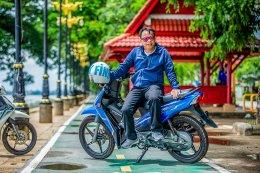 ยามาฮ่าฟินน์ทั่วไทย...ใช้น้ำมันถังเดียว@นครพนม