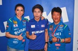 ซูซูกิยกขบวนบิ๊กไบค์ยิ่งใหญ่ร่วมเชียร์ซูซูกิเรซซิ่งทีม ชิงชัย MotoGP