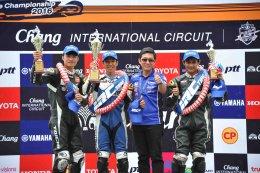 ยามาฮ่าส่งท้ายเกม Moto Challenge Season 2 นำนักแข่งอาชีวะสัมผัสสนามแข่งระดับโลก