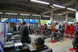 ยามาฮ่า สนับสนุนการแข่งขันทักษะวิชาชีพเครื่องยนต์เล็ก และรถจักรยานยนต์