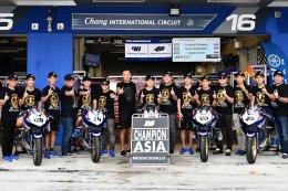 นักบิด YAMAHA THAILAND RACING TEAM ฟอร์มแกร่งศึกชิงแชมป์เอเชีย เรซสุดท้าย