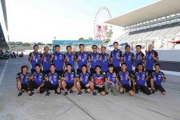 นักบิด ยามาฮ่า ไทยแลนด์ เรซซิ่งทีม สู้สุดใจเก็บแต้มขึ้นโพเดี้ยมในศึกชิงแชมป์เอเชียที่ซูซูก้า