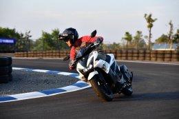 ยามาฮ่าเชิญสื่อมวลชนร่วมทดสอบขับขี่ Yamaha AEROX 155 ครั้งแรก!!!
