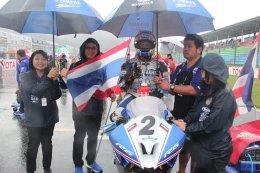 ตั้น-เดชา บิดลุยฝน คว้าโพเดี้ยม เบียร์-เฉลิมพล จบที่ 4 ลุ้นแชมป์สนามสุดท้าย ศึกออลเจแปน ST600 สนาม 4 ตี-อนุภาพ บู๊ J-GP3 สุดมันส์!!
