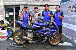 ขุนพล YAMAHA RIDERS' CLUB RACING TEAM ยึดโพเดี้ยมอันดับ 1 ทุกรุ่น ตอกย้ำความแรงรถแข่ง R-Series ศึกชิงแชมป์ประเทศไทย ALL THAILAND SUPERBIKES CHAMPIONSHIP 2017 สนามที่ 4