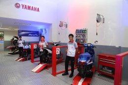 ยามาฮ่าขยายสาขาเปิดโชว์รูมจำหน่ายรถจักรยานยนต์ ยามาฮ่าสแควร์ บางจาก