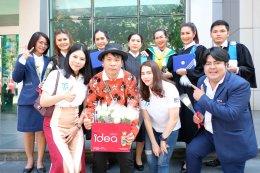 ส้ม-ชนากานต์  ชัยศรี คว้า ป.โท มหาบัณฑิต  เพื่อนนางงาม ดารานักแสดง ร่วมแสดงความยินดีพร้อมหน้า