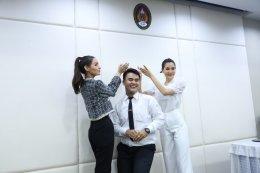 """""""ส้ม-หนูสิ-ณฉัตร""""  3 นางงามมิสไทยแลนด์เวิลด์ จับมือมหาวิทยาลัย """"ปลุกพลังสร้างคุณค่า"""" พัฒนาบุคลิกภาพเพื่อน้องๆ"""