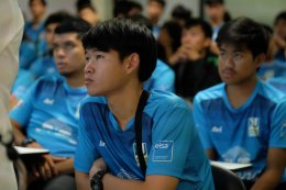 EISA ต่อยอดการเรียนรู้นำน้องๆ นักฟุตบอลมหาวิทยาลัยเกษตรศาสตร์  เปิดประสบการณ์เรียนรู้การบริหารจัดการสโมสรฟุตบอลชลบุรี เอฟซี