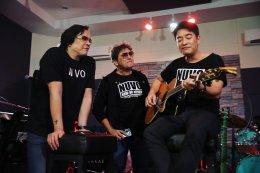 """""""นูโว"""" เปิดห้องซ้อม เตรียมพร้อมคอนเสิร์ตใหญ่ """"NUVO NOW or NEVER CONCERT"""" 9 และ 10 พ.ย. นี้!!"""