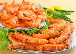 Cooked Shrimp