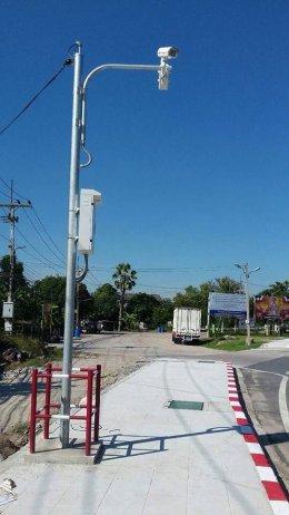 CCTV POLE เทศบาลตำบลพานทอง
