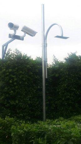 CCTV POLE เสา 3 นิ้ว สูง 3.5 เมตร