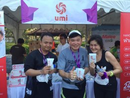 """UMI participated in good activities """"This step ... to RUN FOR LIFE"""""""