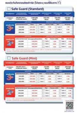 ประกันภัยรถยนต์ประกัน 2+ 3+ Msig Safe Guard