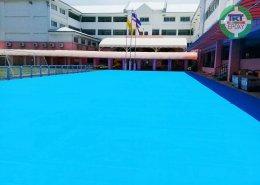 ลานอเนกประสงค์ โรงเรียนนานาชาติไทย-จีน