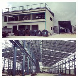 Construction BM steel Factory