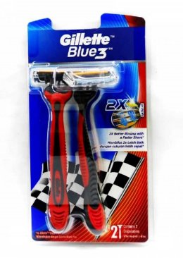 Gillette Blue3 Elastomer Handle Disposable Razor