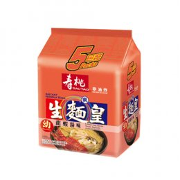 SAUTAO NOODLE KING-THIN LOBSTER SUOP FLAVORED 5x70 g.
