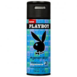 PLAYBOY GENERATION SKINTOUCH INNOVATION 24H DEODORANT BODY SPRAY FOR HIM