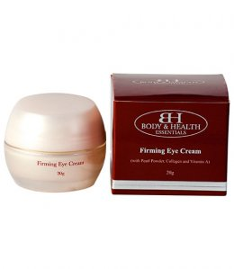 BODY & HEALTH FIRMING EYE CREAM