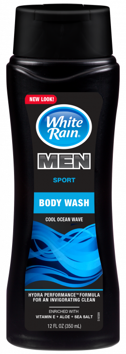WHITE RAIN MEN COOL OCEAN WAVE BODY WASH