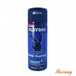 PLAYBOY SUPER PLAYBOY  SKINTOUCH INNOVATION 24H DEODORANT BODY SPRAY FOR HIM