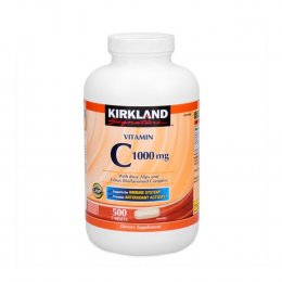 KIRKLAND  Vitamin C 1000 mg with Rose Hips and Citrus Bioflavonoid Complex 500 TABLETS