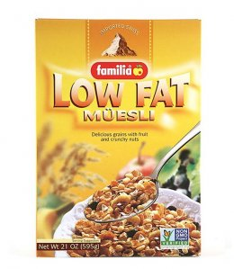 FAMILIA Low Fat Muesli