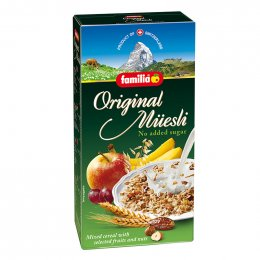 FAMILIA Swiss Muesli Original no added Sugar