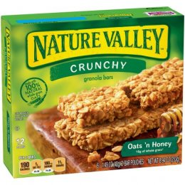 NATURE VALLEY Crunchy Granola Bars Oats'n Honey