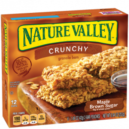 NATURE VALLEY Crunchy Granola Bars Maple Brown Sugar