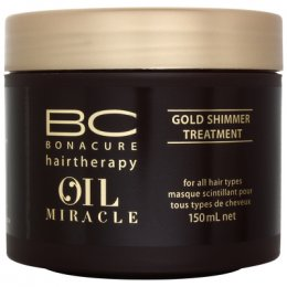 SCHWARZKOPF PROFESSIONAL BC Bonacure Hairtherapy Oil Miracle Gold Shimmer Treatment