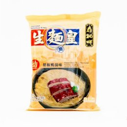 SAUTAO NOODLE KING-THIN PEPPER DUCK SOUP FLAVORED 70 g.