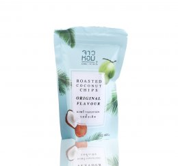 CHAO HOM ROADTED COCONUT CHIPS ORIGINAL 40 g.