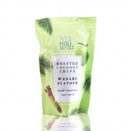 CHAO HOM ROADTED COCONUT CHIPS WASABI FLAVOUR 40 g.