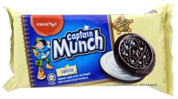 Munchy's Captain Munch Vanilla Flavour Cream Biscuit