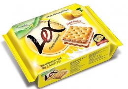Samudra Lex lemon flavoured cream sandwich