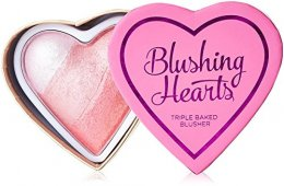 Makeup Revolution Blushing Hearts Triple Baked Blusher #Blushing With Love