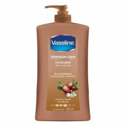 VASELINE BODY LOTION COCOA GLOW 650 ml