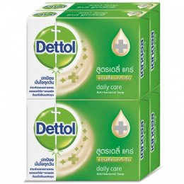 DETTOL ANTI-BACTERIAL SOAP DAILY CARE 65 G.