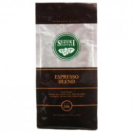 Suzuki Coffee Espresso Blend Italian-style Dark Roast BAG