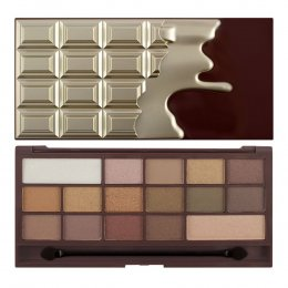 Makeup Revolution Eyeshadow Palette I Heart Makeup Chocolate - Golden Bar 16 Colour